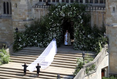 Meghan Markle Walking Down Aisle