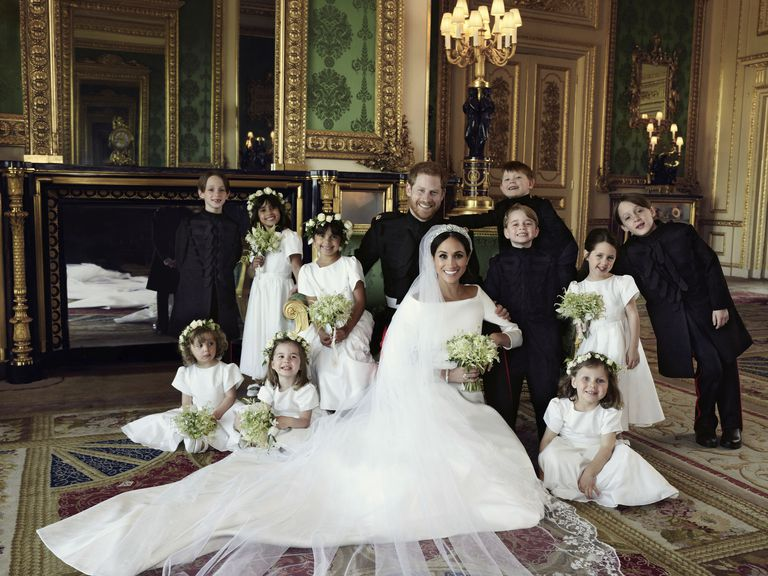 Prince Harry & Meghan Markle Official Wedding Portrait