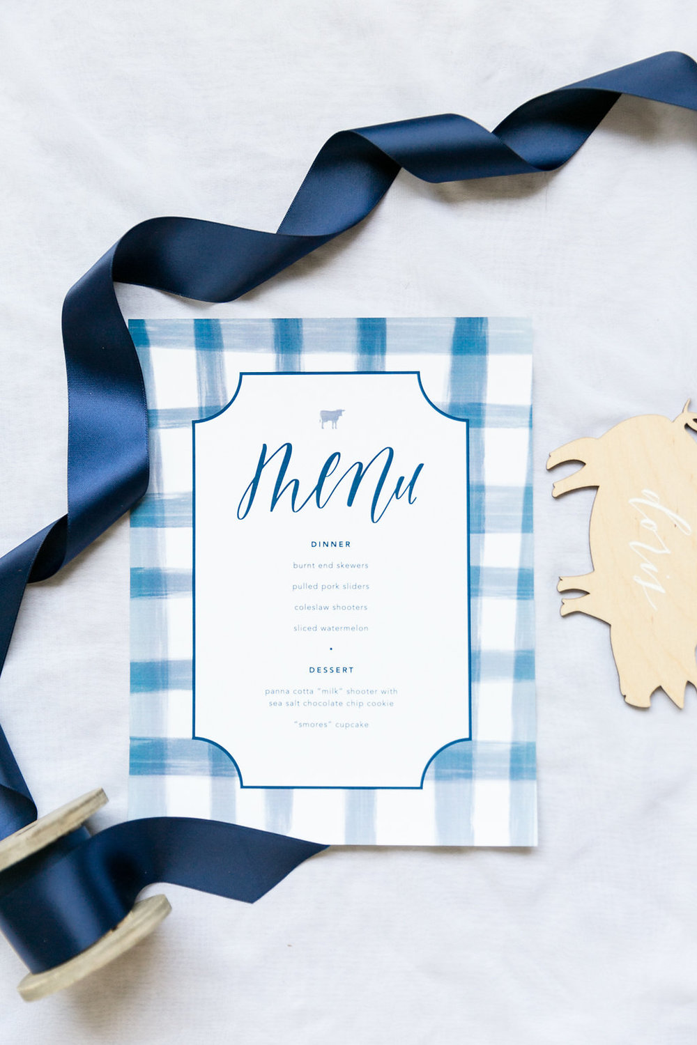 Menu Card | Love Letters Studio