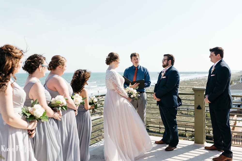 Beach Ceremony | Rian Fuller Photography