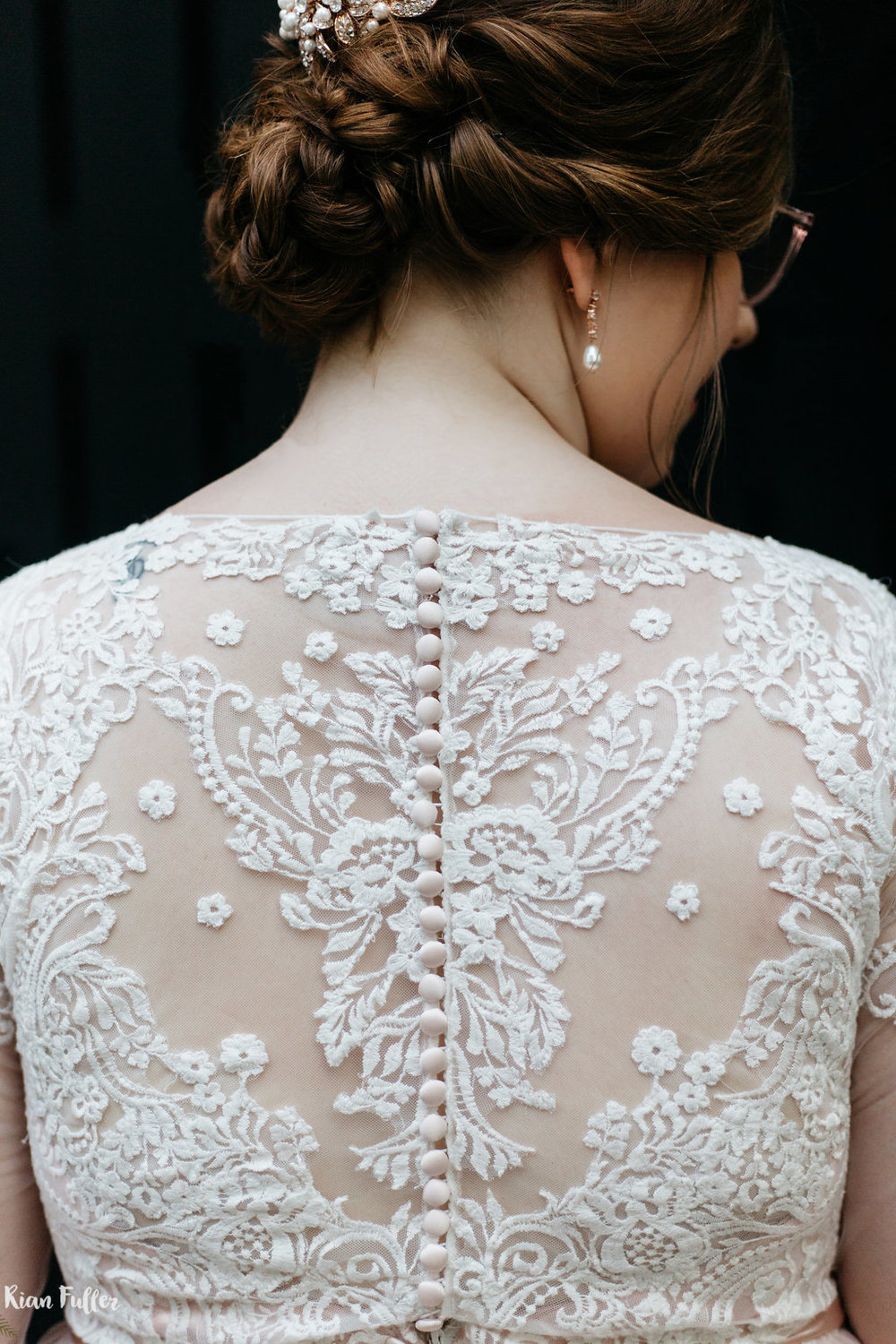 Allure Bridals 2716 Detail | Rian Fuller Photography