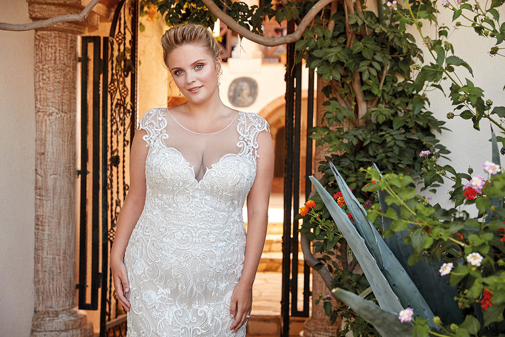 UR1012 | Eddy K Bridal | Plus Size Wedding Dress
