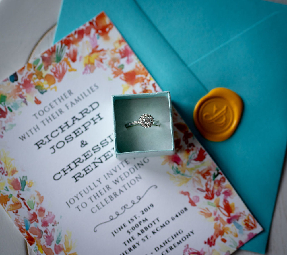 Wedding Invitations | Summerside Photography