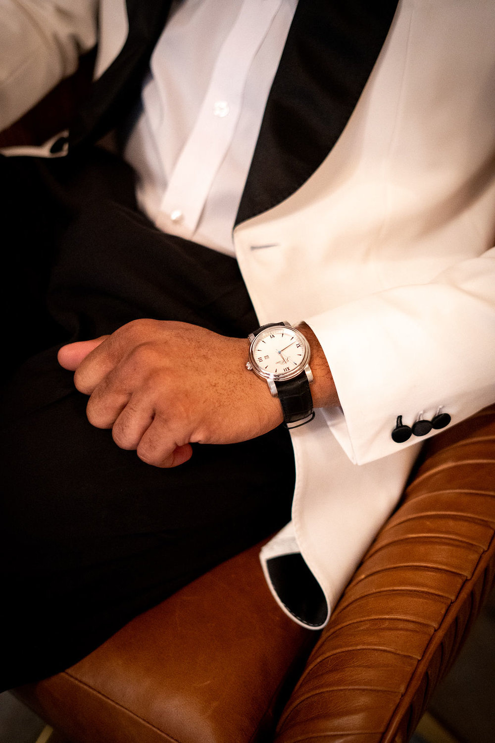 Groom Details | Business Meets Style