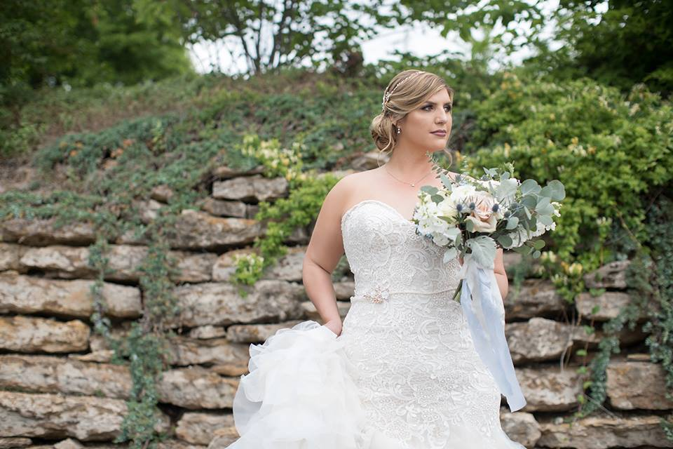 Allure Bridals Wedding Dress | Lark Photography