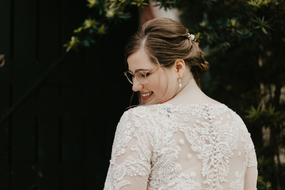 Illusion Back Wedding Dress | Allure Bridals