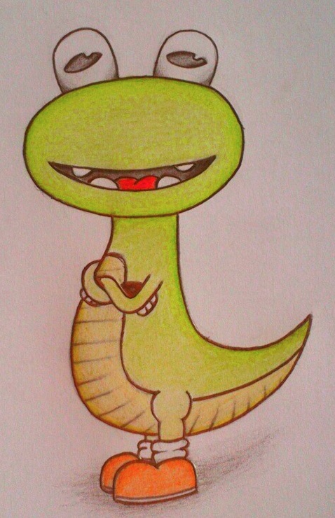 Licky Lizard