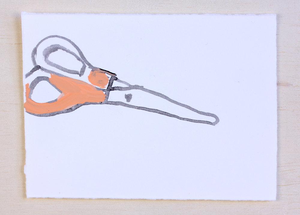 Desert, Scissors #3 (sold)