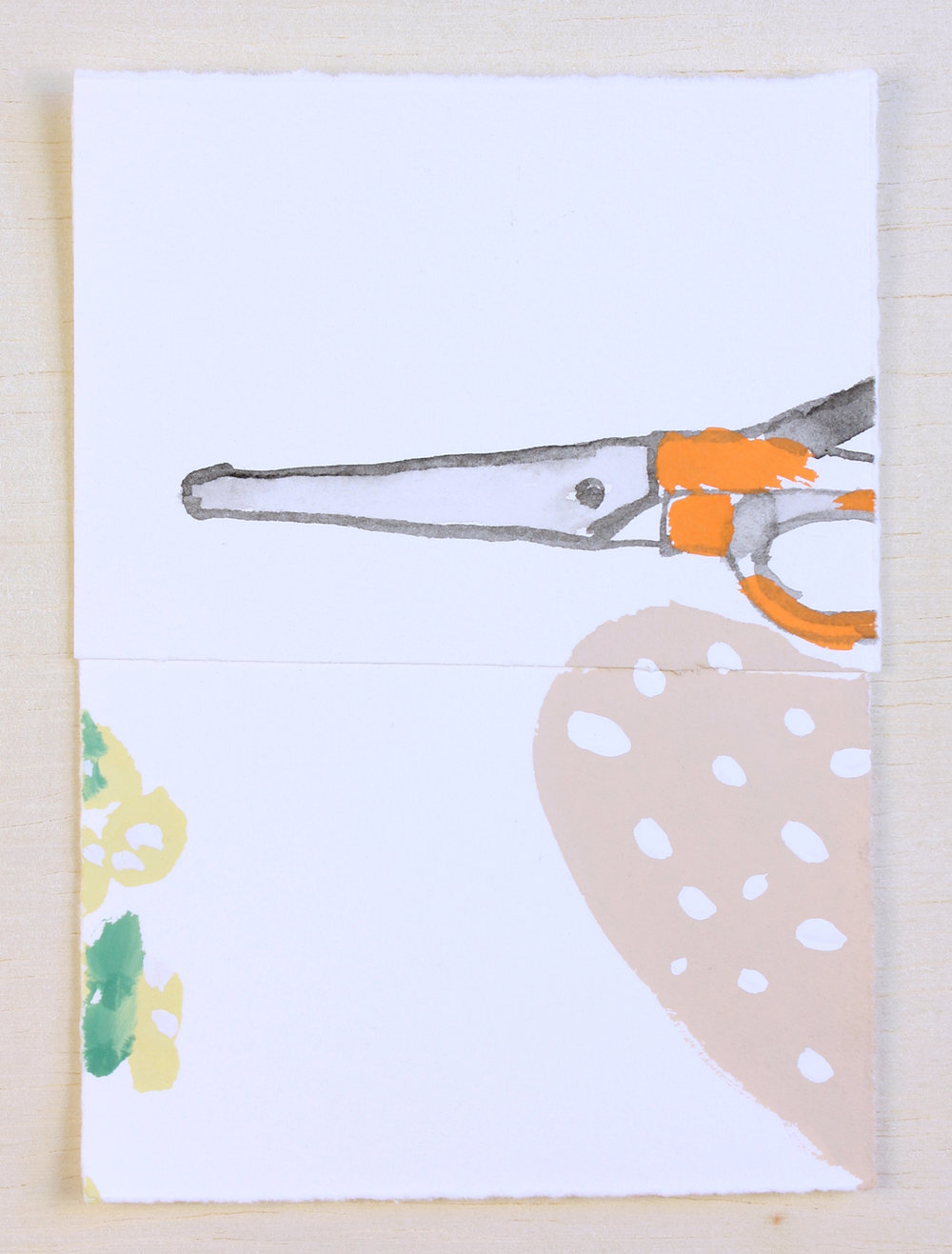 Desert, Scissors #4