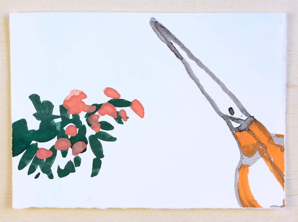Desert, Scissors #2 (sold)