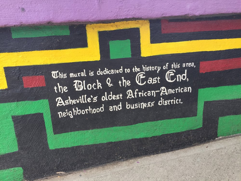 Triangle Park Mural, Asheville