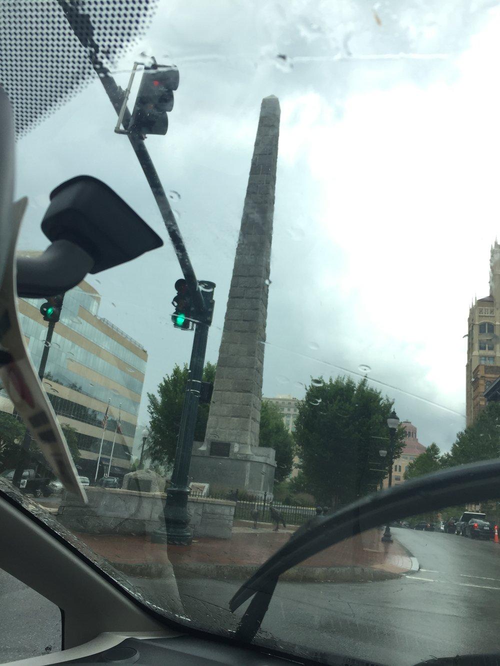 Vance Monument, Asheville