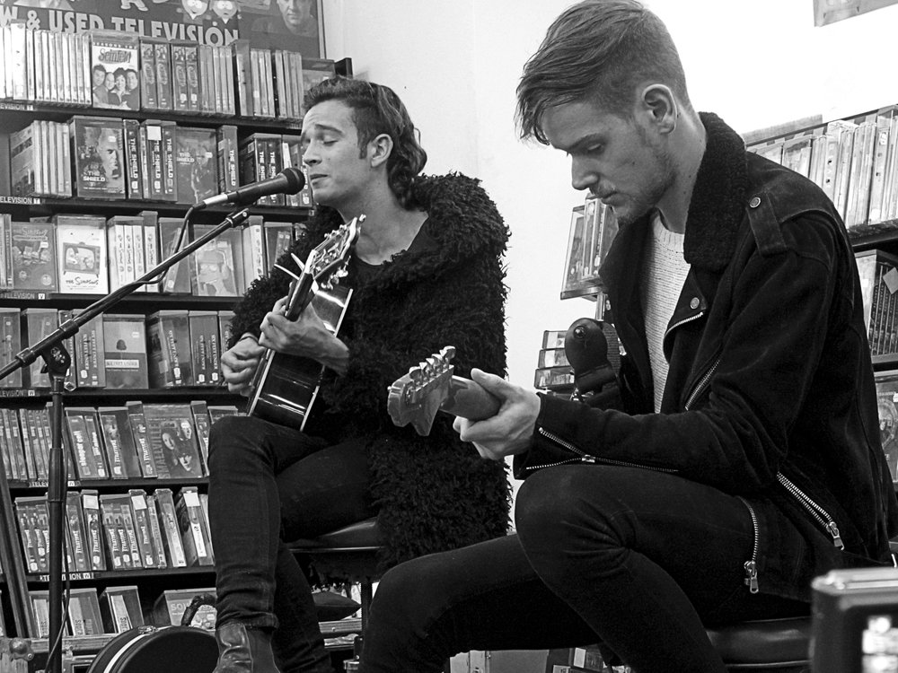 Matt Healy & Adam Hann of The 1975