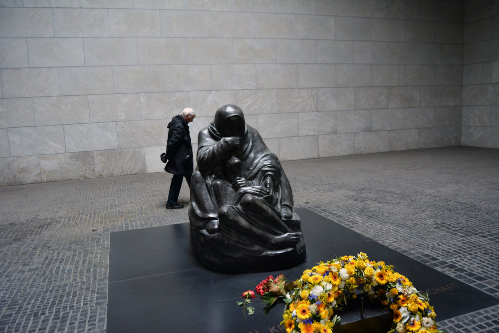 this is in the  Memorial to the Fallen Soldier  , the stranger in the back quickly lead to it becoming one of my favorite pictures from the trip.