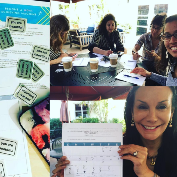 The YAY Action Squad -- our monthly online + in-person accountability group.