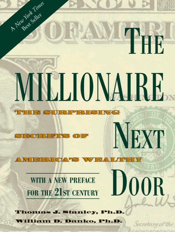 Millionaire Next Door Did you know 14% of America's millionaires are (or once were)teachers? This one's a classic!It reveals true evidence behind financial success.
