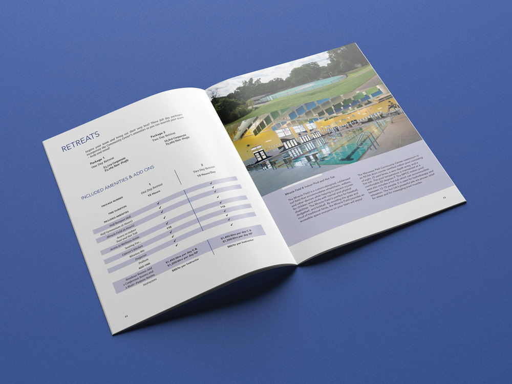 Corporate/Non-profit Rental Package catalog
