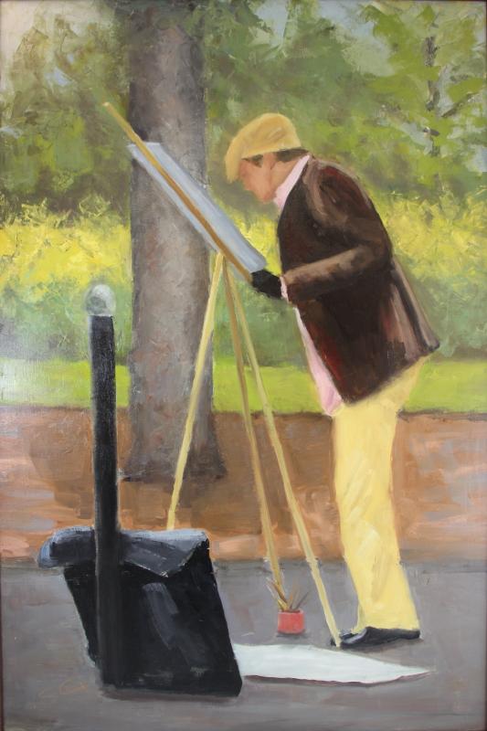 Parisian Painter-36x24.JPG