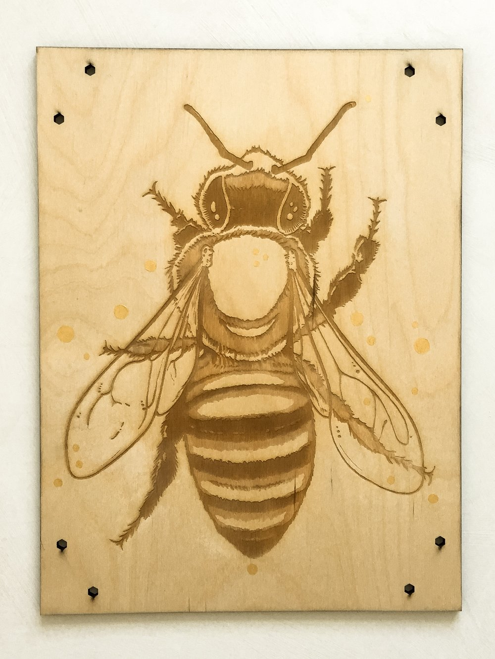 Earth Day Bees -