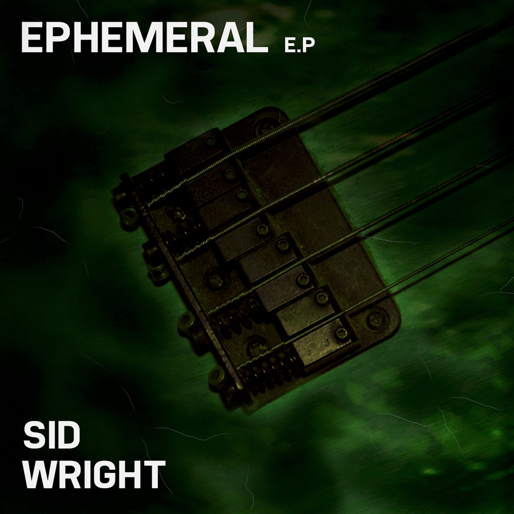 Ephemeral album cover by Sid Wright sidwright.co.uk
