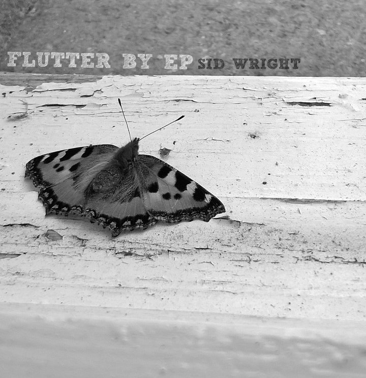 Flutter By EP album cover by Sid Wright sidwright.co.uk