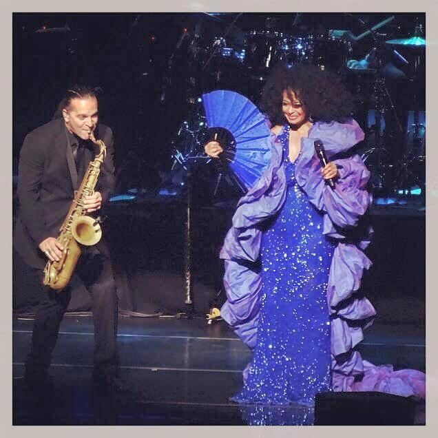 john scarpullo performing with diana ross
