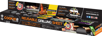 COOKINA REUSABLE GRILLING SHEET