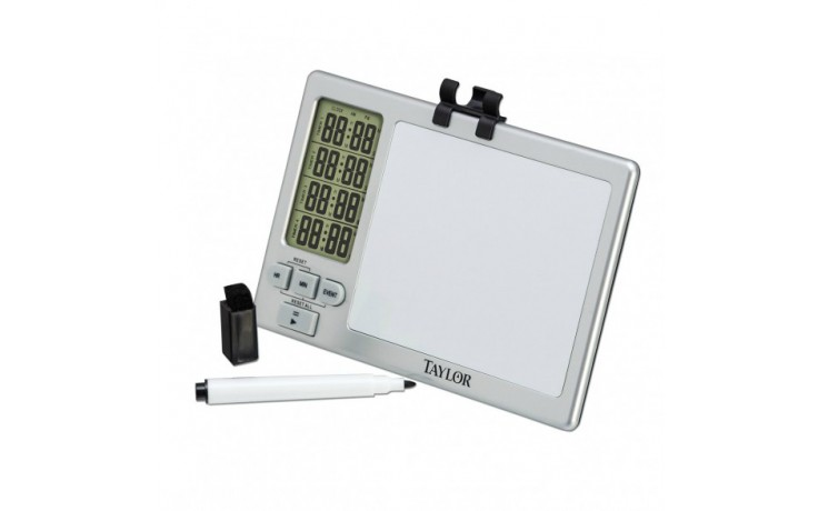 TAYLOR 5859 4-EVENT WHITEBOARD TIMER