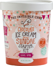The Invisible Chef: Chocolate Ice Cream Sundae Starter Kit