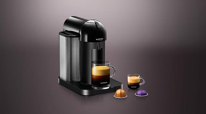 Nespresso: BLACK VERTUOLINE