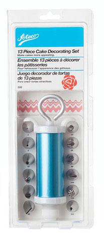 Ateco: 13 Piece Decorating Set with Syringe