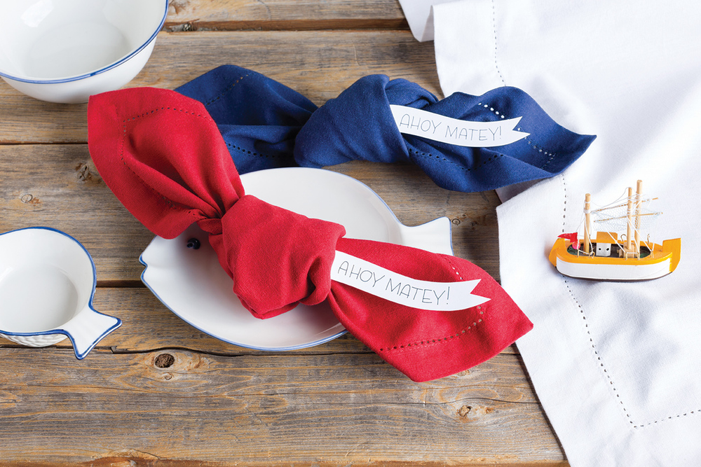 NOW DESIGNS: Hemstitch Solid Napkins