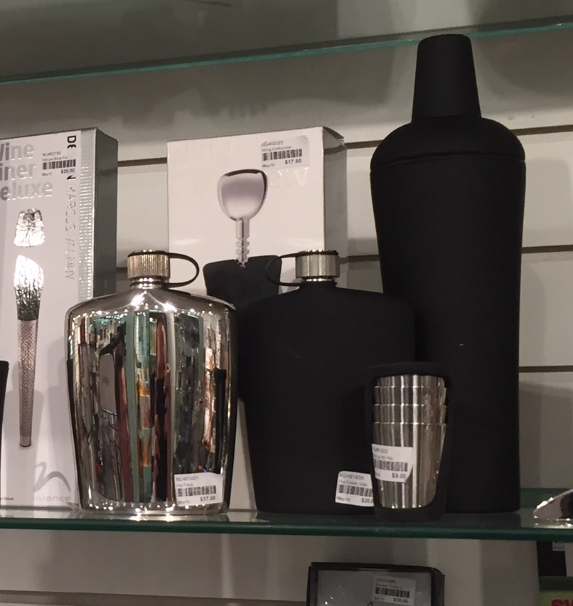 Nuance (Swissmar): Cocktail Shaker & Flask