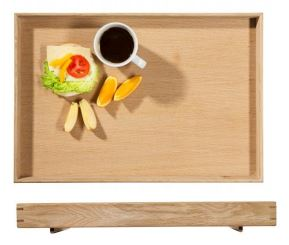 Oval Oak Serving Tray