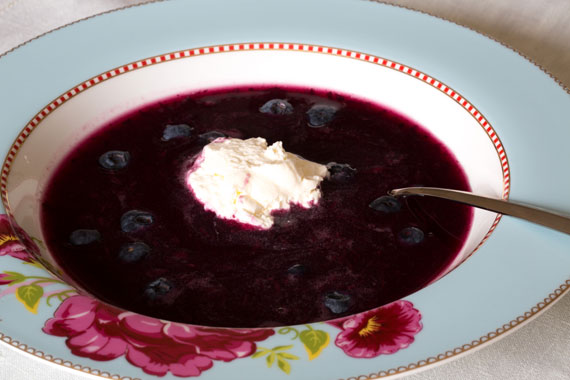Bilberry Soup ( or Blueberry)