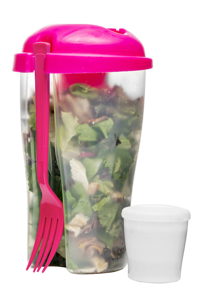 Sagaform To Go Salad (Pink)
