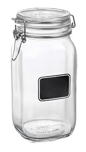 BORMIOLI ROCCO: Fido Chalkboard Jars