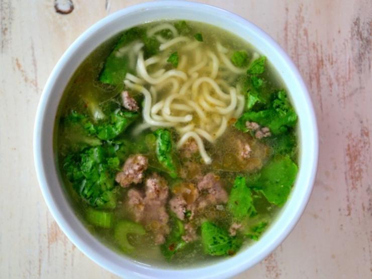 Hearty Kale & Bison Ramen