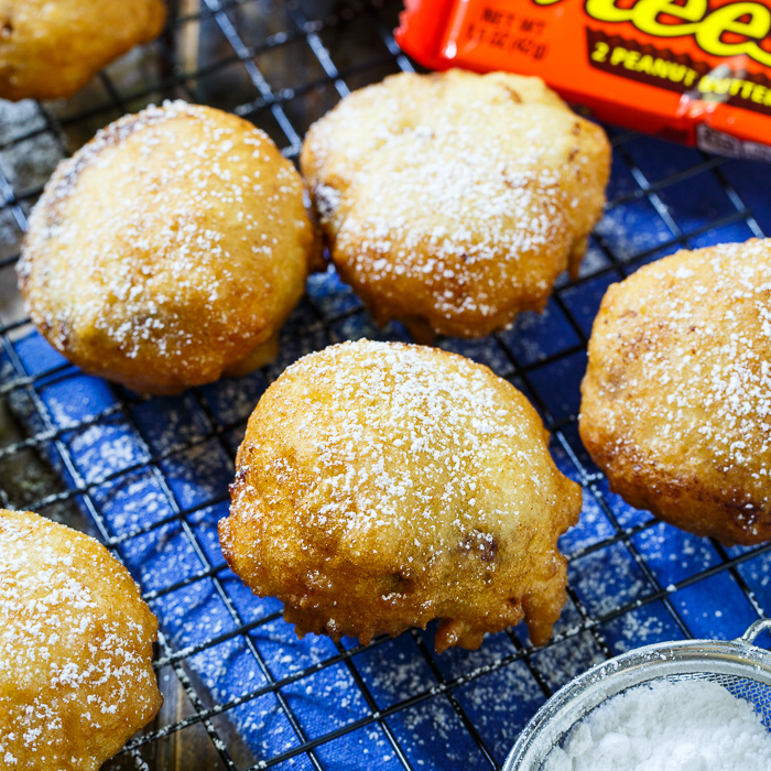 Deep Fried Peanut Butter Cups!