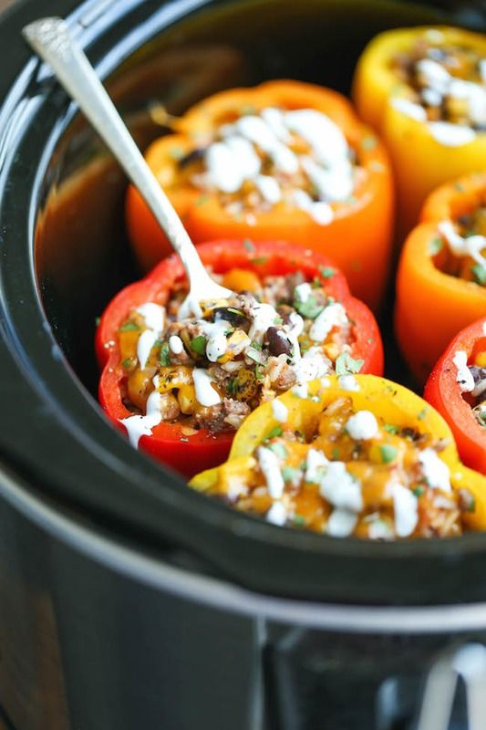 5. Stuffed Peppers