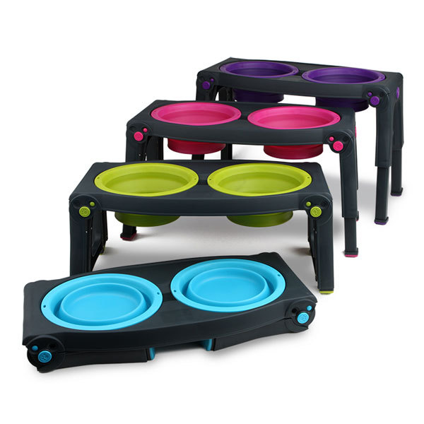 DEXAS: Adjustable Pet Feeder