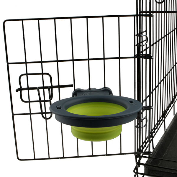 DEXAS: COLLAPSIBLE KENNEL BOWL