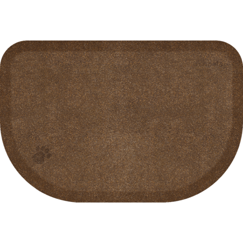 Wellnessmats: PetMat Golden Retreat Rounded