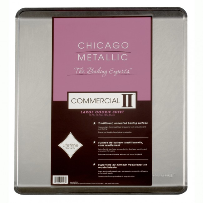 Chicago Metallic: Traditional Uncoated Large Cookie Sheet