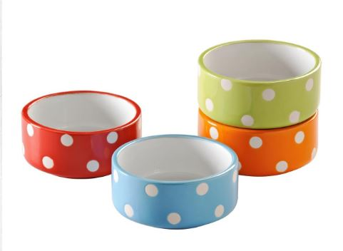 Mason Cash: ASSORTED 8CM BRIGHTS POLKA DOT