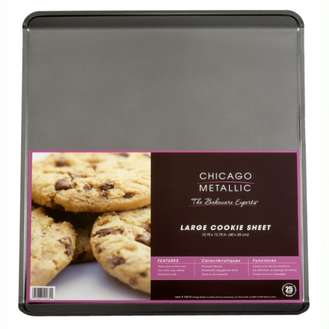 Chicago Metallic: Non-Stick Large Cookie Sheet