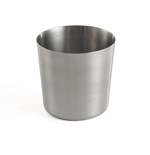 Tablecraft:	14 oz Round Appetizer Cup (Stainless Steel)