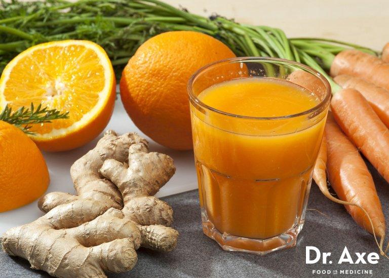 Orange Carrot Ginger Juice