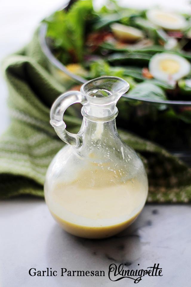Garlic Parmesan Vinaigrette