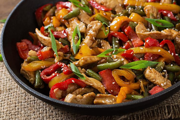 Stir-Fry Sesame Chicken